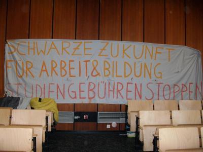 Transparent im Musiksaal